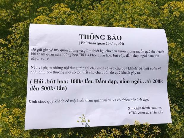 Mức phạt mà chủ vườn đưa ra cho du khách