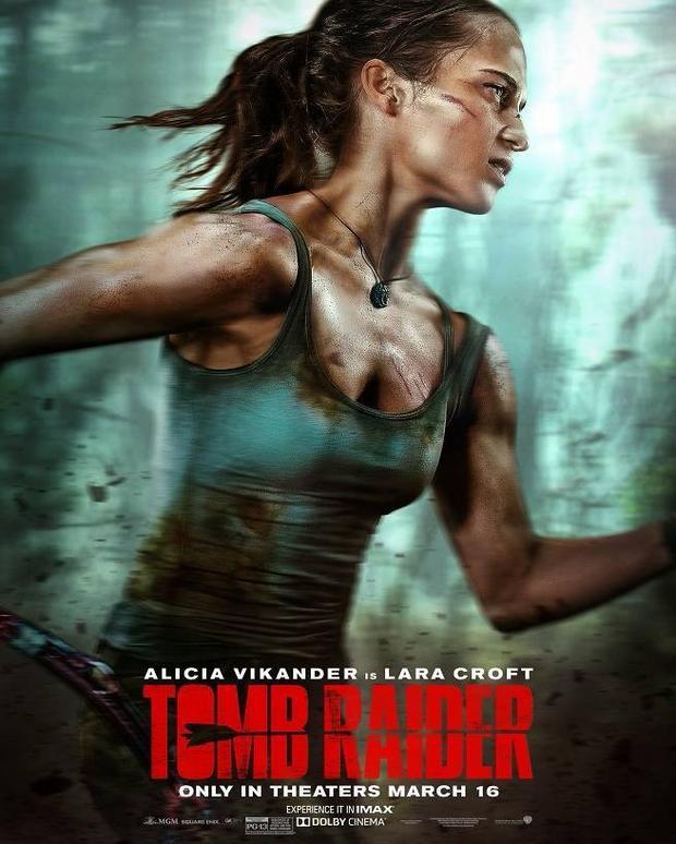 """Alicia Vikander trở thành Lara Croft trong bom tấn """"Tomb Raider: Huyền thoại bắt đầu""""."""
