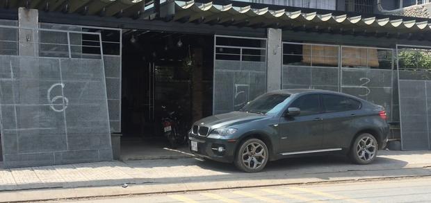 Ô tô bị Công an tạm giữ để phục vụ công tác điều tra.