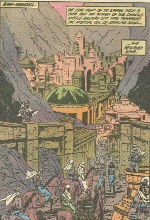 Thành phố Bana-Mighdall