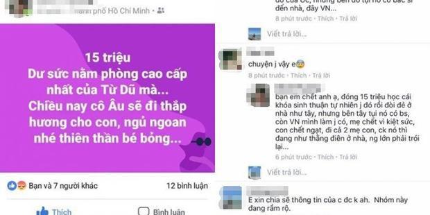 Câu chuyện sản phụ tử vong cùng thai nhi do tự sinh tại nhà sau khi học khóa Thai sản thuận tự nhiên gây xôn xao MXH (Ảnh cắt màn hình)