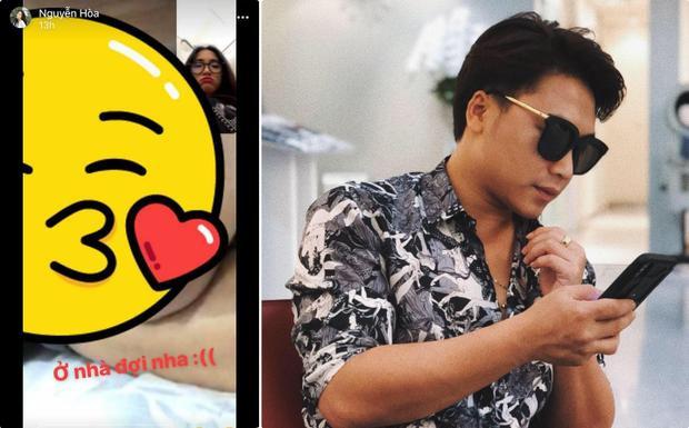 """Hòa Minzy nhắn nhủ bạn trai: """"Ờ nhà đợi nha""""."""