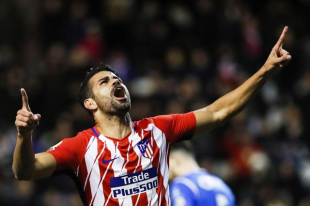Costa đang đạt phong độ tốt tại Atletico.