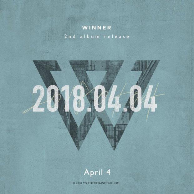 Hình ảnh nhá hàng về 2nd full album của Winner.