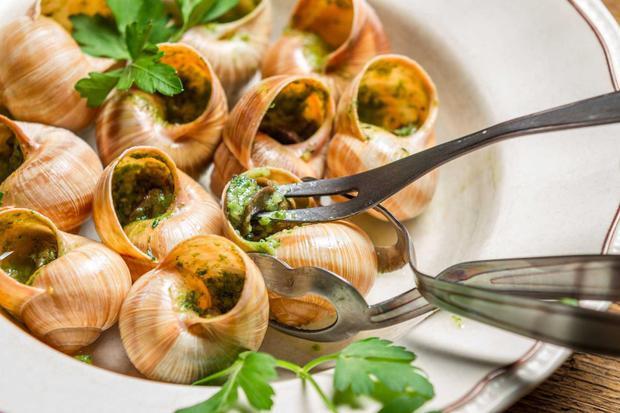 Món Escargots có nhiều giá trị dinh dưỡng.
