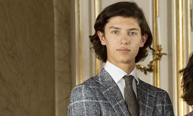 Thần thái của Nikolai đúng chuẩn hoàng gia. Ảnh: Daily Mail