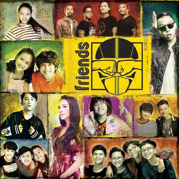 Bìa album Friends.