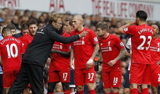 Liverpool của Jürgen Klopp cũng nằm trong Top ứng viên vô địch.