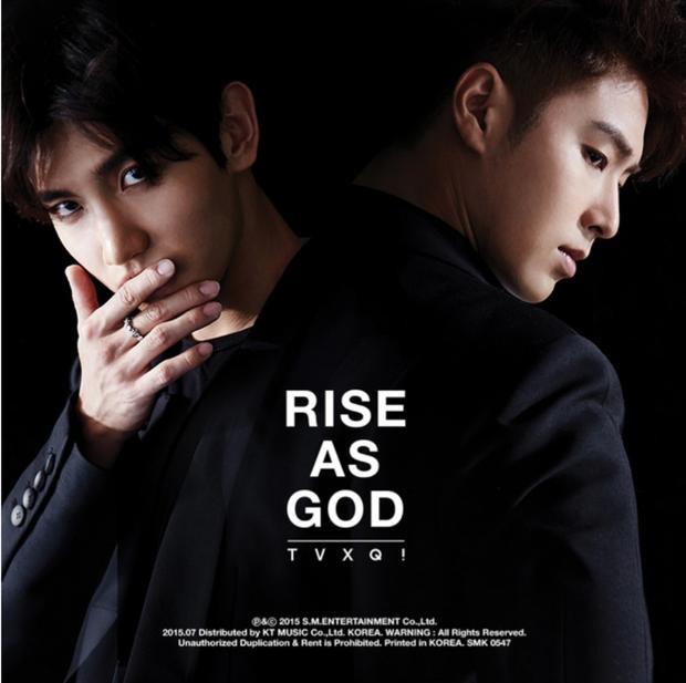 Rise As God - Album đặc biệt của TVXQ phát hành vào năm 2015. Tuy nhiên, nhóm không có kế hoạch quảng bá sản phẩm này.