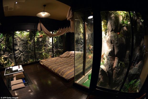 Một đêm tại khách sạn tình yêu sẽ là trải nghiệm hấp dẫn đối với mọi cặp đôi. Ảnh: AFP