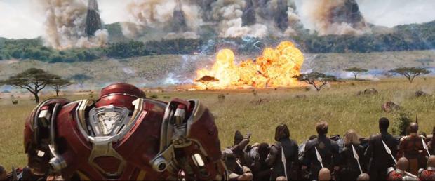 Trận chiến ở Wakanda chính thức bùng nổ.