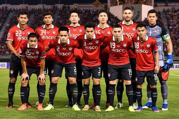 Muangthong United là một thế lực của bóng đá Thái Lan.