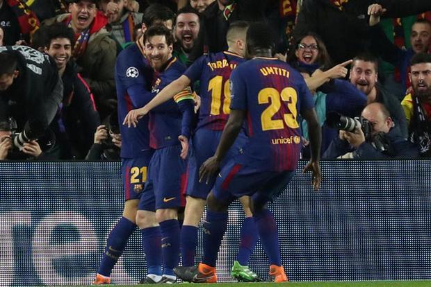 Barca là CLB được đánh giá cao nhất.