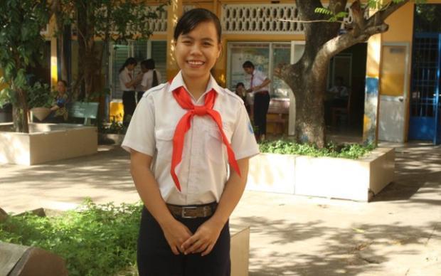 Cô bạn Mai Hải Yến.