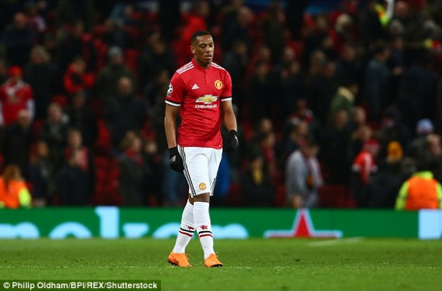 Martial có khả năng rất lớn sẽ sớm rời sân Old Trafford.