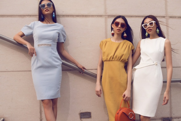 Lựa chọn trang phục khác nhau theo sở thích riêng, nhưng tựu trung lại, cả ba cô nàng đều có sự tương đồng.