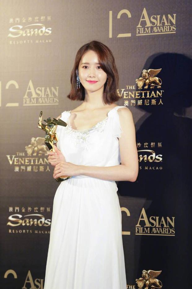 """Yoona bất ngờ giành chiến thắng với giải thưởng """"AFA Next Generation Award"""""""