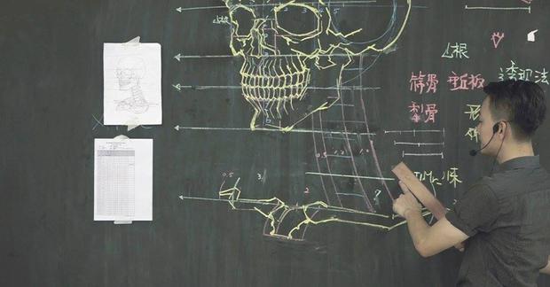 Thầy giáo soái ca: vừa điển trai lại vẽ hình minh họa cực đẹp khiến sinh viên mê mệt