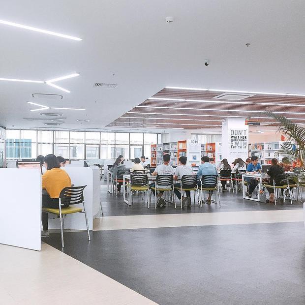 Thư viện sống ảo - niềm tự hào của sinh viên ĐH Tôn Đức Thắng