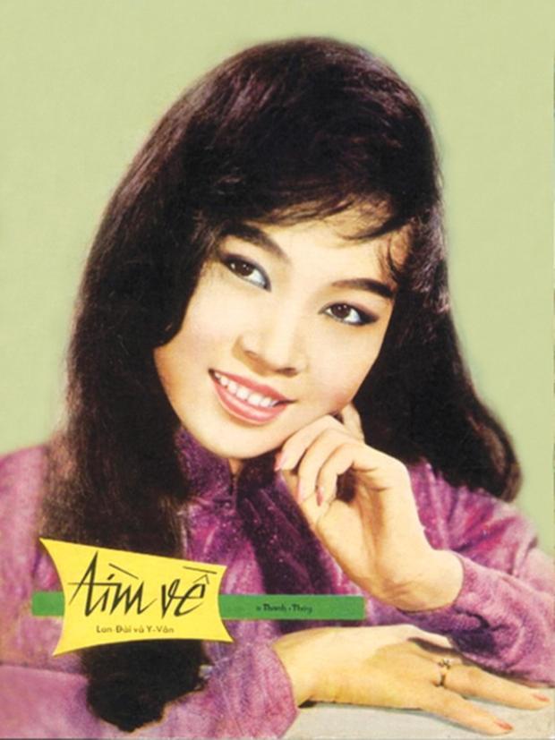 Danh ca Thanh Thúy - nàng thơ của biết bao nghệ sĩ Việt.