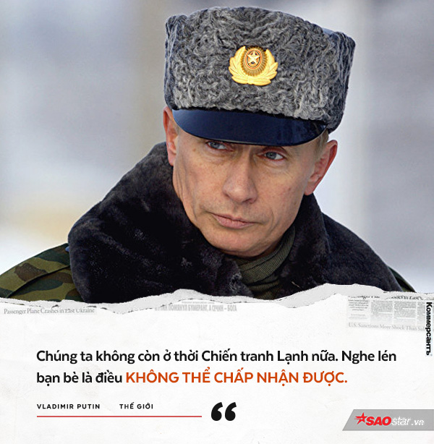 12 phát ngôn cực chất chứng minh sự mạnh mẽ, gai góc và đầy quyền lực của Tổng thống Putin
