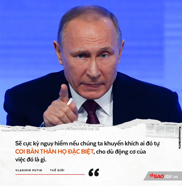 Đây là phát biểu được ông Putin gửi trực tiếp tới người Mỹ và giới lãnh đạo nước này về việc Washington tham chiến ở Syria.