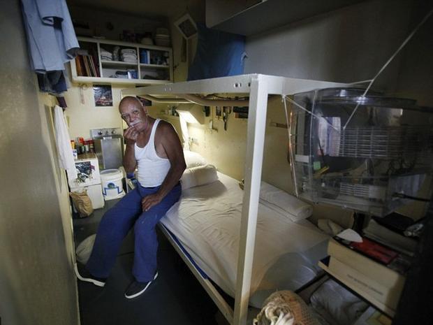 San Quentin là nhà tù lâu đời nhất ở California, Mỹ. Với an ninh cực kỳ nghiêm ngặt, đây từng là nơi giam giữ kẻ giết người hàng loạt Charles Manson. Ảnh: Reuters