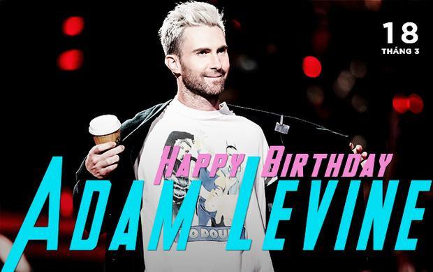 Chúc cho Adam Levine một tuổi mới với thật nhiều niềm vui và thành công nhé!