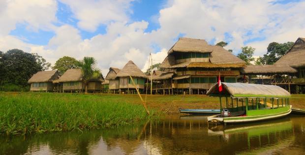 Đây là hình ảnh giới thiệu Iquitos trên các trang web du lịch. Ảnh:Libertad Jungle Lodge