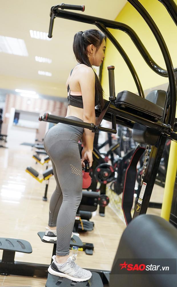 Gym không chỉ giúp cho Nguyên đẹp mà còn nâng cao sức khỏe.