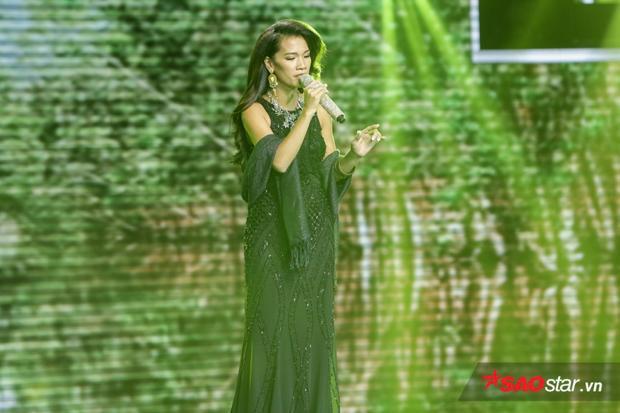 Hình ảnh Thanh Tuyền Ebony gây ấn tượng trên sân khấu Thần tượng Bolero.