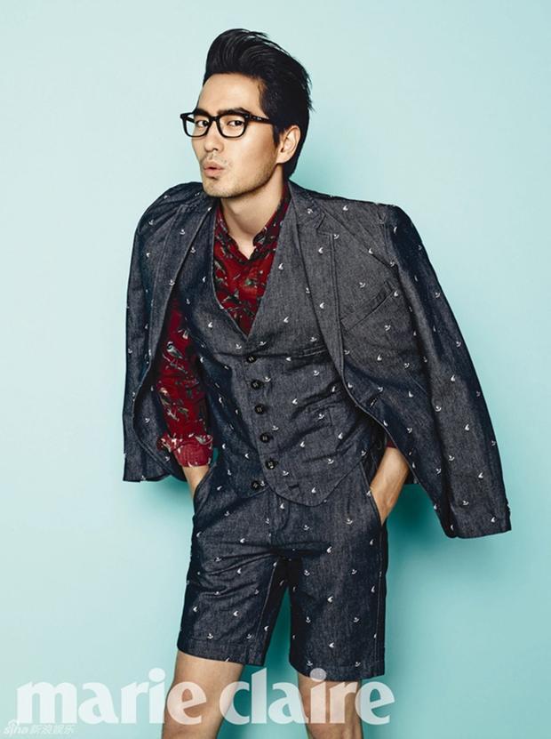 """Lee Jin Wook nằm trong số nam diễn viên """"mặc gì cũng đẹp"""" của màn ảnh Hàn"""