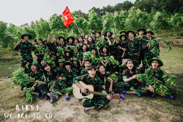 Chúng tôi là chiến sĩ (ảnh: 37team)
