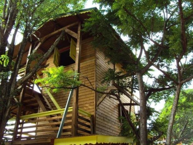 Jungle Guadeloupe Bungalow (từ 148 USD/đêm):Ngôi nhà tuyệt đẹp này được thiết kế với 3 tầng cùng khung cảnh tuyệt đẹp của động thực vật nhiệt đới đem tới trải nghiệm khó quên cho du khách.