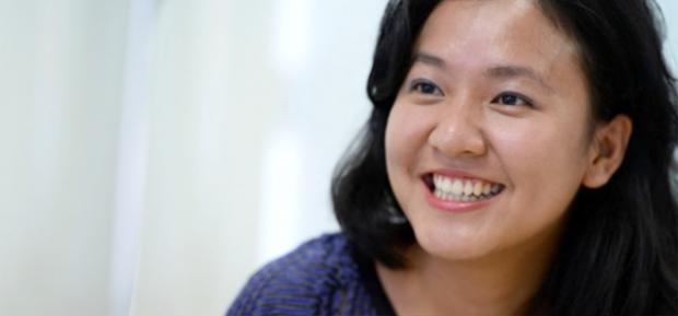 """Kiều Trang từng chia sẻ mong muốn các bạn trẻ hãy sống tham vọng hơn hai chữ """"làm giàu""""."""