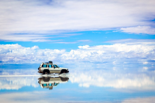 Salar De Uyuni là một trong những kỳ quan thiên nhiên tuyệt vời của thế giới.