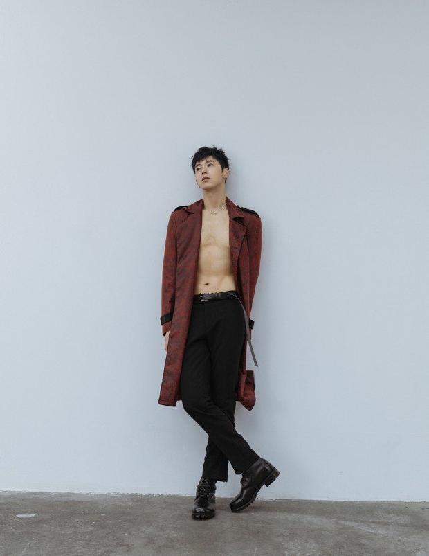 Yunho gây chú ý với thân hình sút cân trầm trọng.
