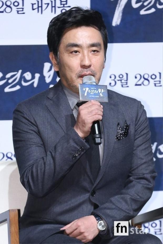 Diễn viên Ryu Seung Ryong.