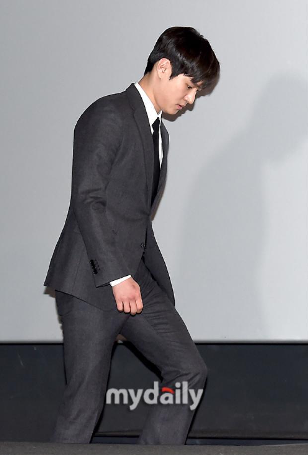 Diễn viên trẻ Go Kyung Pyo.