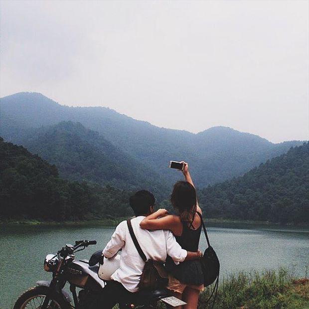"""Những bức ảnh """"sống ảo"""" được chụp ở núi Hàm Lợn."""