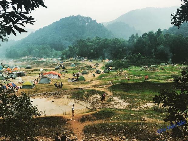 Đây là địa chỉ dành cho những người không muốn đi phượt quá xa Hà Nội.