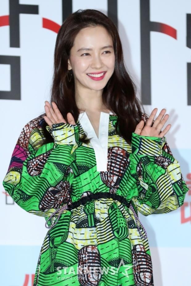 Nữ diễn viên sinh năm 1981 - Song Ji Hyo.