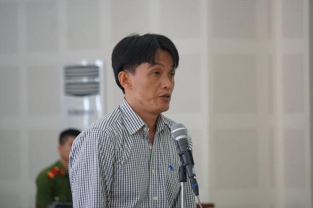 Bị cáo Võ Ngọc Thạch tại phiên tòa.