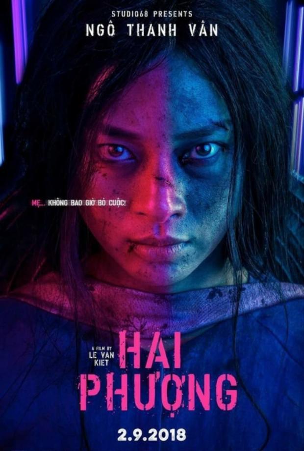 """Poster phim """"Hai Phượng"""" từng gây ấn tượng với thần thái sắc lạnh của Ngô Thanh Vân."""