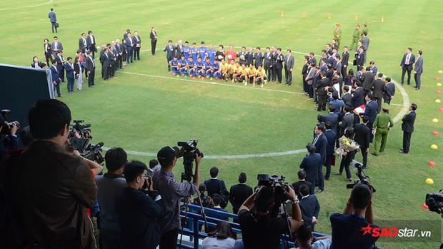 Sự kiện thu hút chú ý của truyền thông 2 nước.