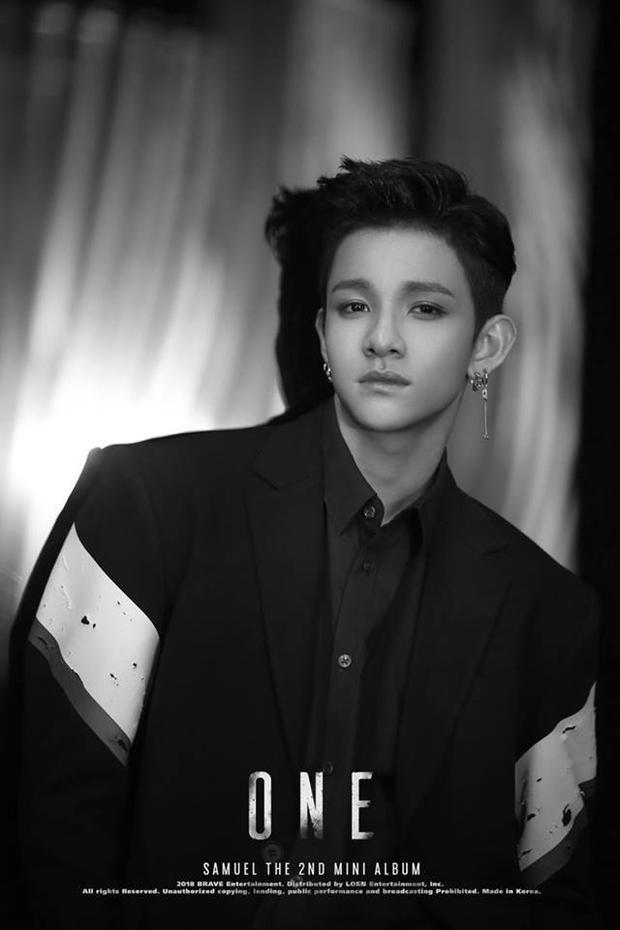 Hình ảnh Samuel Kim trích từ mini album thứ 2.