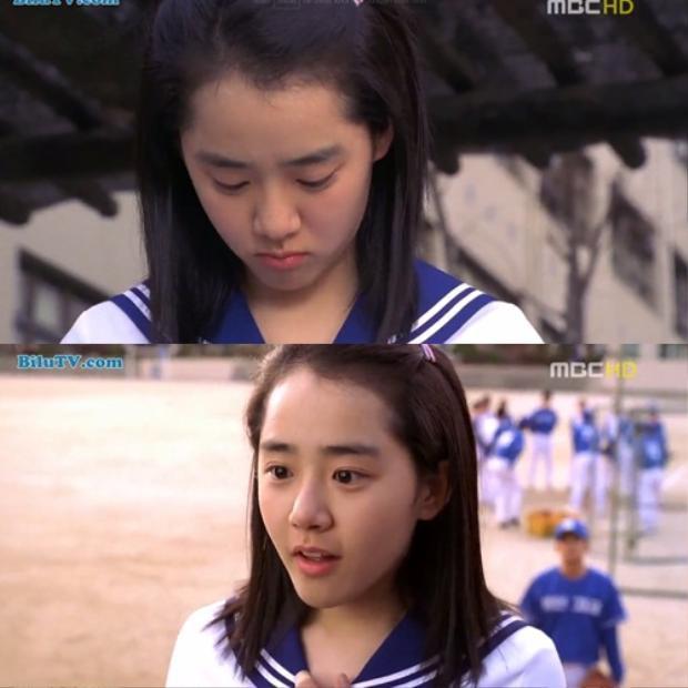 Bo Eun khi ấy vẫn là một nữ sinh hay mộng mơ, cô bé thầm thích anh chàng hot boy của đội tuyển bóng chày.