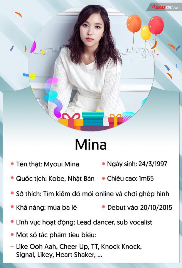 Bạn biết gì về Mina  nàng thiên nga đen có dáng đi chim cánh cụt của TWICE?