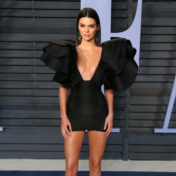 Kendall Jenner tại tiệc Afterparty của Lễ Trao giải Oscars 2018.