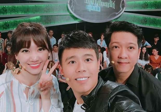 Trường Giang lộ vẻ tiều tuỵ trong buổi ghi hình show mới.